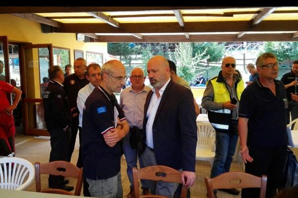 Terremoto in Italia centrale, Bonaccini con Curcio, capo del Dipartimento nazionale di Protezione civile - 2