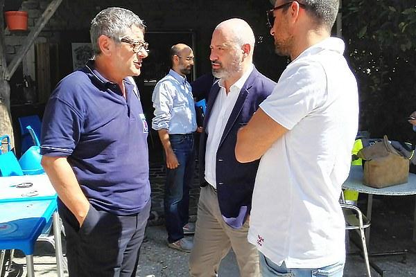 Terremoto in Italia centrale, Bonaccini e Rossi col capo della protezione civile della Regione Marche