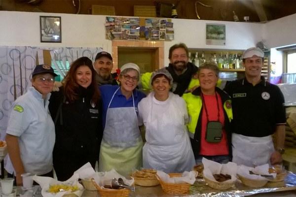 3 ottobre 2016, gruppo cucina di Reggio Emilia