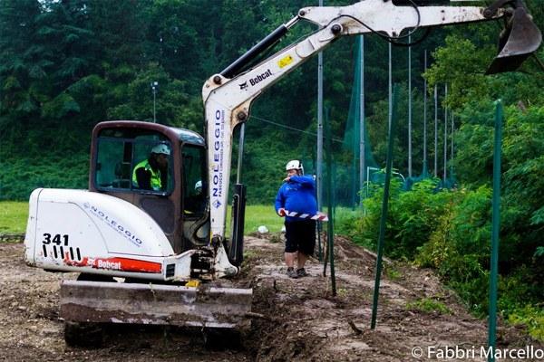 8 settembre 2016, iniziano i lavori per la realizzazione del Centro multifunzionale a Montegallo