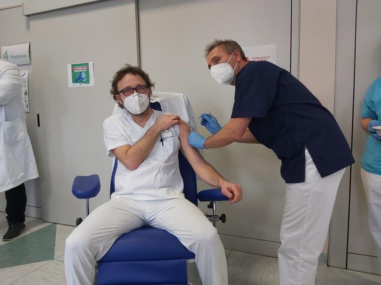 Andrea Vercelli, Medico dell'Unità Operativa Pronto Soccorso e Obi dell'Ospedale Guglielmo da Saliceto di Piacenza