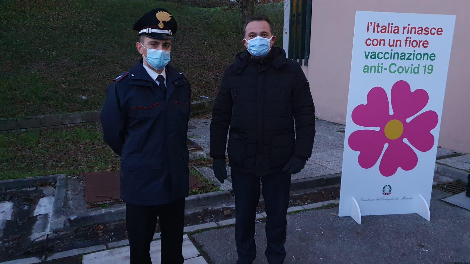 Arrivo all'ospedale Bellaria di Bologna