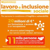 Welfare, 20 milioni per l'inclusione sociale