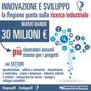 Nuovo bando per la ricerca industriale