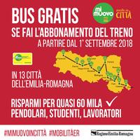 Bus gratis se hai l'abbonamento al treno