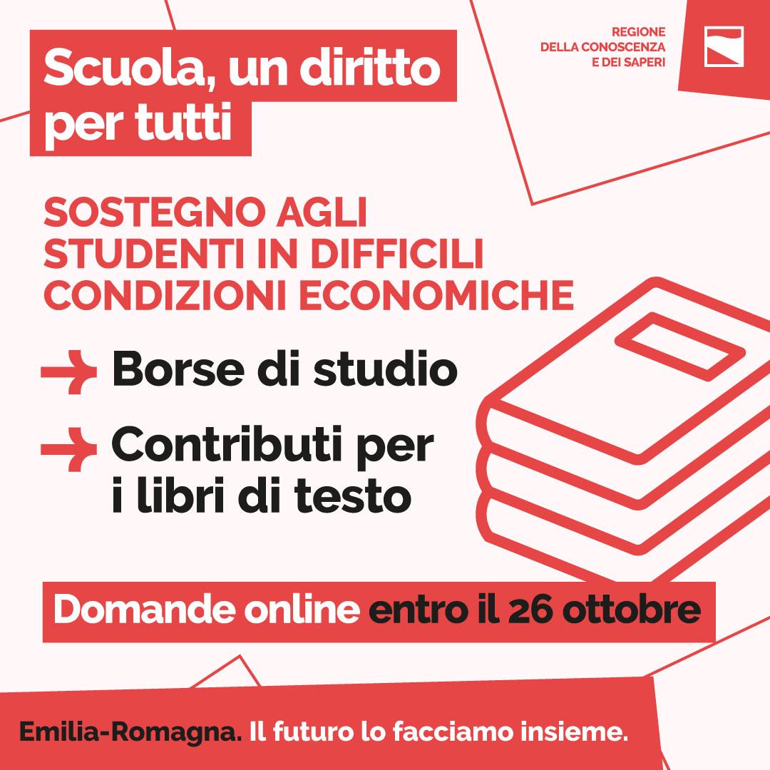 Sostegno agli studenti in difficili condizioni economiche