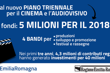 Nuovo piano cinema e audiovisivo