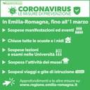 Coronavirus, le misure di prevenzione
