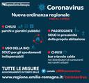 Coronavirus, l'ordinanza regionale del 18 marzo