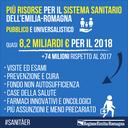 8,2 miliardi per il Sistema sanitario regionale