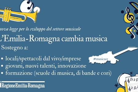 L'Emilia-Romagna cambia musica