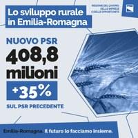 Nuovo PSR: 408 milioni di € di investimenti