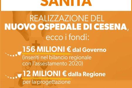 Realizzazione del nuovo ospedale di Cesena