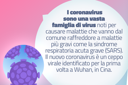 Regole di sicurezza per il coronavirus