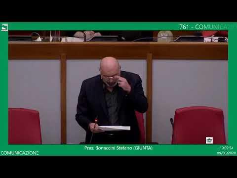La presentazione in Aula (9 giugno 2020)