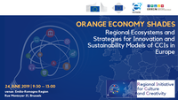 Orange Economy Shades. Regional Ecosystems and Strategies for Innovation and Sustainability Models of CCIs in Europe