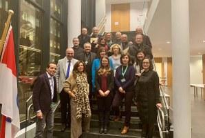 I Vescovi dell'Emilia-Romagna in visita alla Delegazione presso l'UE