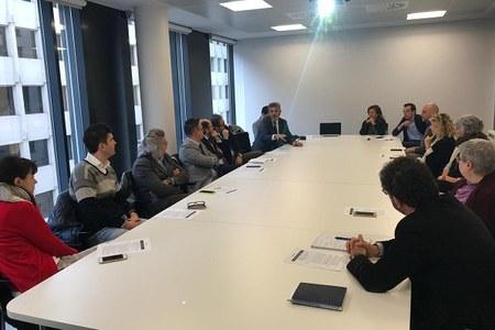 Enti di formazione professionale dell'Emilia-Romagna in visita a Bruxelles