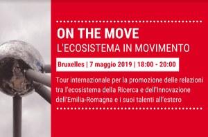 On the move - l'ecosistema in movimento. Prima tappa a Bruxelles