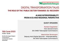 Digital Transformation Talks: AI and Interoperability