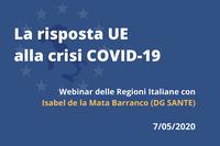 La risposta dell'UE alla crisi Covid-19: Focus Sanità