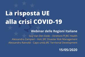 La risposta dell'UE alla crisi Covid-19:  il contributo del JRC