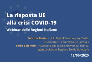 La risposta dell'UE alla crisi COVID-19:  il ruolo delle digital skills
