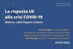 La risposta dell'UE alla crisi Covid-19:  il settore culturale e creativo
