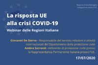 La risposta dell'UE alla crisi Covid-19: protezione civile