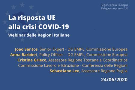La risposta dell'UE alla crisi Covid-19: Vocational education and training (VET)