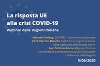La risposta dell'UE alla crisi COVID-19:  il contributo del Fondo Sociale Europeo
