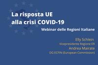 Piano per la ripresa della Commissione Europea: webinar delle Regioni italiane a Bruxelles