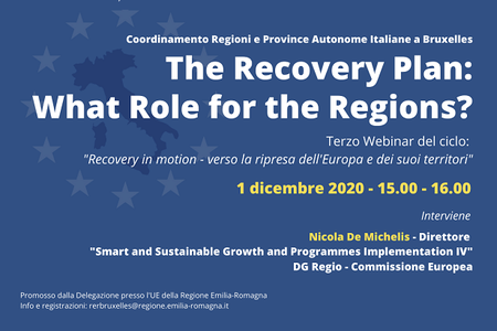 """Recovery in motion: """"The Recovery Plan: What Role for the Regions?"""""""