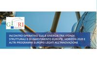 Sinergie tra i fondi strutturali e di investimento europei, Horizon 2020 e altri programmi europei legati all'innovazione