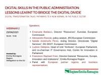 Digital Transformation Talks: le digital skills nel settore pubblico