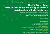 Green Deal Europeo: Farm to Fork e biodiversità per un futuro sostenibile e inclusivo