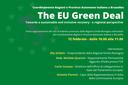 Green Deal da una prospettiva regionale: al via un nuovo ciclo di webinar delle Regioni Italiane