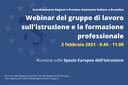 Politiche UE per l'istruzione e la formazione professionale: riunione delle Regioni Italiane a Bruxelles
