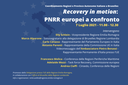 Recovery in motion: PNRR europei a confronto