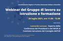 Riunione delle Regioni Italiane a Bruxelles sulla politica di istruzione e formazione
