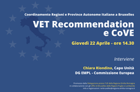 VET Recommendation and Centres of Vocational Excellence (CoVE)