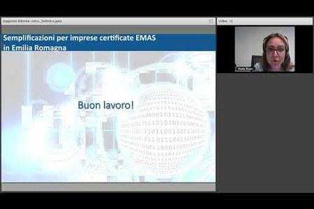Semplificazioni per imprese certificate EMAS