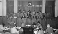 La Giunta Cavina nella seduta di elezione