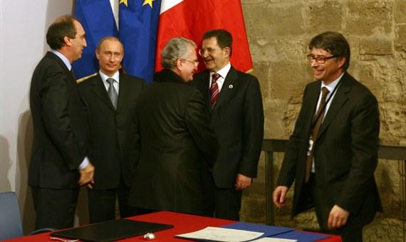 Con Putin per Ermitage Italia