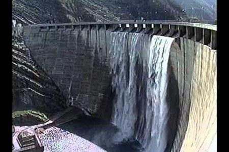 Inaugurazione diga di Ridracoli