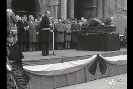 I funerali di Sergio Cavina, presidente della Regione Emilia-Romagna