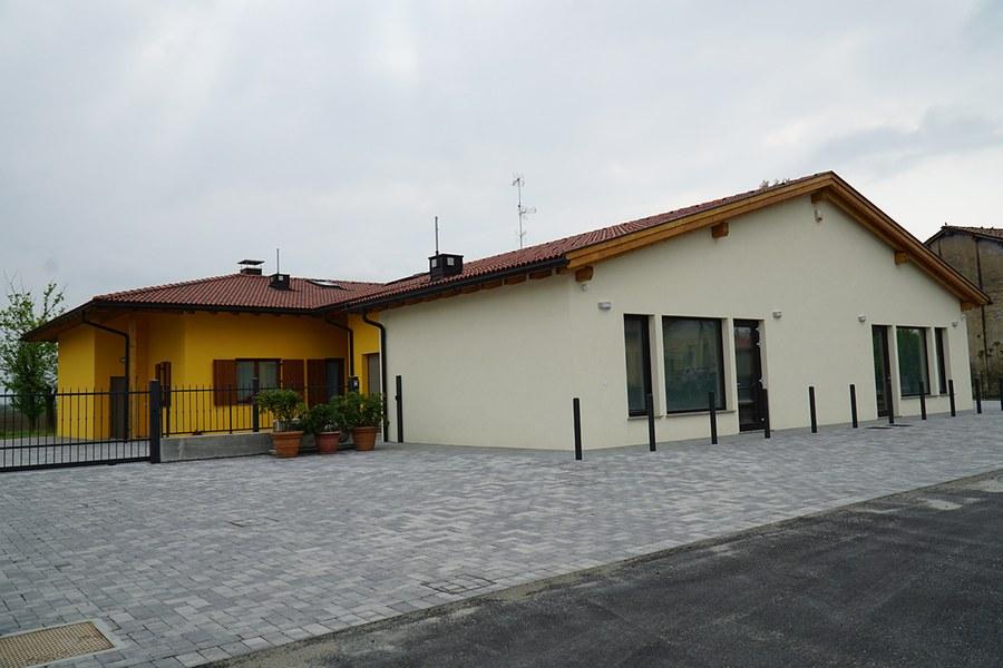San Felice sul Panaro. Abitazioni ricostruite