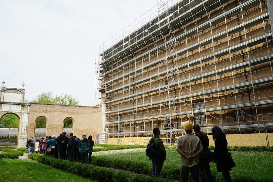 Ferrara. Palazzo dei Diamanti