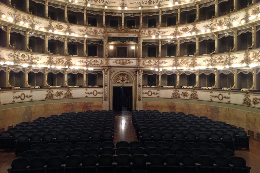 Carpi. Teatro comunale restaurato