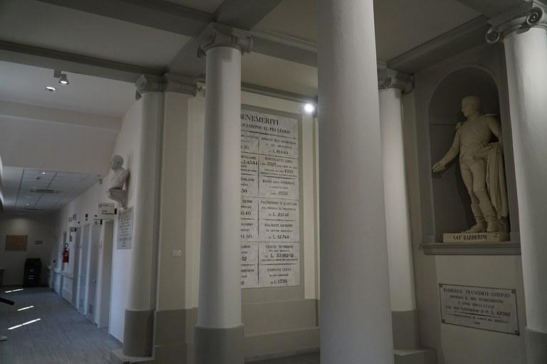 Crevalcore. Interni restaurati della Casa della salute